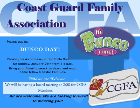 Bunco flyer